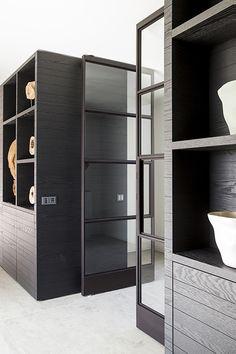 Ikea Sinks, Small Master Bath, Steel Doors And Windows, Zen House, Farmhouse Vanity, Happy New Home, Living Room Shelves, House Inside, Floor Colors