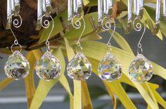 5 pcs Lead Crystal Ball Prisms, Wedding Decoration, Rainbow Suncatcher, Window…