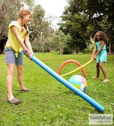 Sport Crafts For Kids Pool Noodles Ideas For 2019 Picnic Activities, Picnic Games, Summer Activities, Summer Games, Camping Games, Swimming Pool Toys, Kid Pool, Play Pool, Family Games For Kids