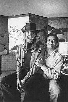 Jack Nicholson and Candace Bergen