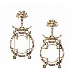 Axenoff Jewellery » Earrings «Princess Turandot»