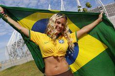 Mundial: El destape de las hinchas que maravilla en Brasil 2014 - Terra USA
