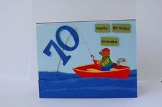 Card - Bday Card Fishing Theme