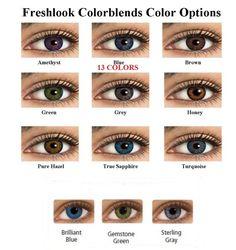 Freshlook color contact lenses color mixtures lens last 2 years we ship same day # 1 bestseller – Colored Contacts Bloğ Fresh Look Contact Lenses, Eye Contact Lenses, Coloured Contact Lenses, Colored Eye Contacts, Hazel Eyes, Eye Lens Colour, Eye Color, Color Blending, Makeup Eyes
