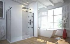 Image result for showers without glass