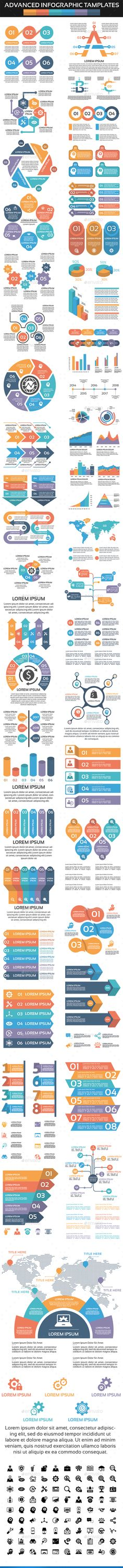 Infographic - Infographic Design - Advanced Infographic Elements - Infographics Infographic Design : – Picture : – Description Advanced Infographic Elements – Infographics -Read More – Infographic Resume, Infographic Templates, Infographics Design, Free Infographic, Ppt Design, Game Design, Data Visualization Tools, Layout Template, Box Templates
