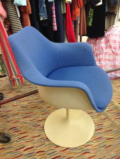 Pair of fab MCM tulip chairs
