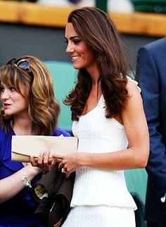 Kate Middleton at Wimbledon.
