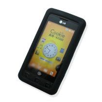 SF Planet offer New LG KP500 Cookie Soft Silicone Skin Case - Black. This awesome product currently limited units, you can buy it now for  $3.99, You save - New