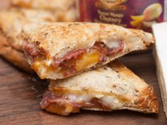 Bacon, Brie and Mango Grilled Sandwich. Take comfort food the the next level with this sweet and savoury sandwich.