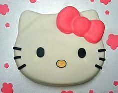 Apron Strings Baking: Crumb Coat Cakes: Hello Kitty!