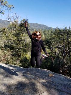 Idyllwild National Park in San Bernardino Mountains  jump for joy of fresh air!!