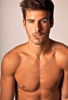 Lucas Bernardini. anyone else feel the butterflies by simply looking at this picture and imagining him making that face at you? oh my :)