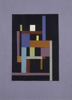 Ad Reinhardt - Collage (1938)