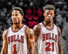 Jimmy Butler & Derrick Rose are on the same page when it comes to winning! Bulls Basketball, Basketball Is Life, Basketball Funny, Basketball Legends, Basketball Wall, Sports Head, Sports Art, Chigago Bulls, Nba Funny