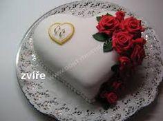 Výsledek obrázku pro dorty s růžemi
