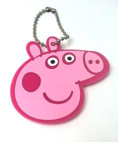 Chaveiro Personalizado Peppa Pig