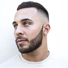 braid-barbers-cool-short-hairstyles-with-beard-for-men