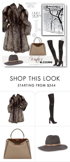 """""""Quiet Storm..."""" by desert-belle ❤ liked on Polyvore featuring Gianvito Rossi, Fendi and rag & bone"""
