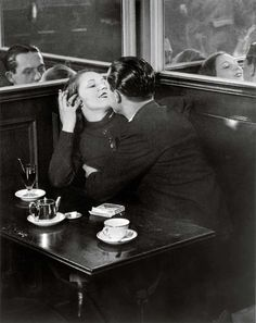 Moved to Paris in 1924 as a journalist, writing for publications throughout Europe and United States. (Couple in a © Estate Brassaï Succession, Paris) Night Club, Night Life, Amsterdam, Lovers Kiss, Brassai, Paris At Night, Henry Miller, Paris Cafe, Montmartre Paris