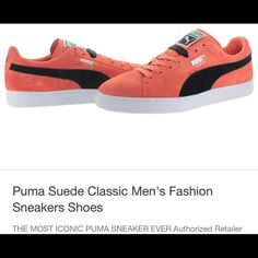 Puma sneakers The Puma Suede Classic + shoe is the perfect balance between a casual shoe that can dressed up with the sleek feel of a classic sneaker. Puma Shoes Sneakers