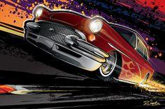 """DRAWINGS & ART ON CARS!"""
