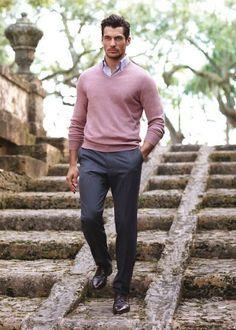Peças em Tons de Rosa no Visual Masculino (4)