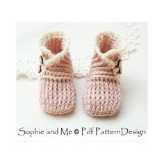 Ravelry: Wrap and Button Baby Booties - 0-24 Months by Sophie and Me-Ingunn Santini
