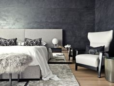 Schlafzimmer Ideen 2014 Schlafzimmer Ideen Einrichtung Schlafzimmer Ideen Einrichtung Grau Wandgestaltung Farbeffekte Metall