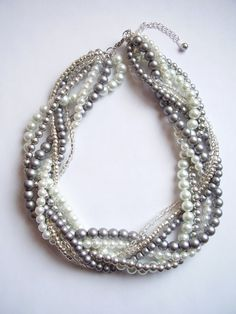 WildStoneJewels on Etsy custom necklace Great for the Bridesmaids!