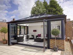 Aluminium Conservatory Roofing, Orangery Roofing, Sunrooms, Bi Folding Doors
