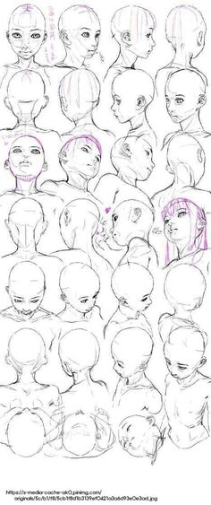 20 trendy how to draw head positions character design 20 trendy how to draw head. - 20 trendy how to draw head positions character design 20 trendy how to draw head positions characte - Drawing Heads, Body Drawing, Anatomy Drawing, Figure Drawing, Gesture Drawing, How To Draw Anatomy, Head Anatomy, Manga Drawing, Drawing Reference Poses
