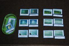Cloud 3 Part Cards - Montessori