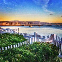 Pillar Point Harbor, Half Moon Bay, California.