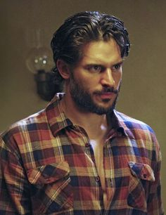 """Okay, so a lot of werewolf fans HATE """"True Blood"""" because the werewolves spend most of their time as humans. They especially hate Alcide (played by Joe Manganiello) because they think his main purpose is to be eye candy. Those arguments have merit but, personally, I think Alcide is pretty bad-ass. He's my favorite TV werewolf. I'm looking forward to the next season where both he and the other werewolves will be more prominent."""