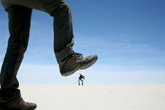 Visit the Bolivian Salt Flats and of course take awesome pictures