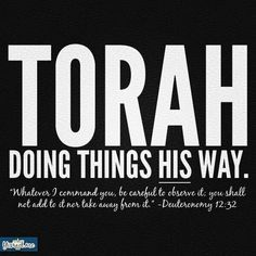 .In Torah I have found complete freedom and joy!