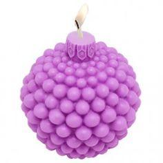Molde velas navidad, Bola de Bolitas 3D. Molde de silicona para hacer velas DIY. Disponible en Gran Velada.