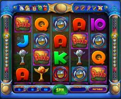 Bet on 50 win lines at a time in Peggle Spin!