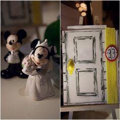 Disney wedding details. Mickey and Minnie wedding