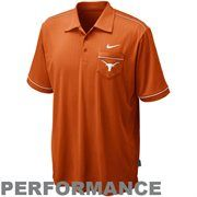 Nike Texas Longhorns Burnt Orange Conference Performance Polo #Fanatics