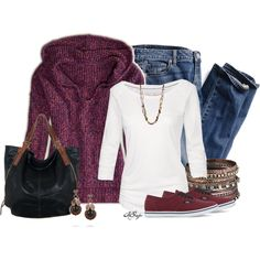 """""""Hoodie, Jeans and Sneakers Contest"""" by kginger on Polyvore"""