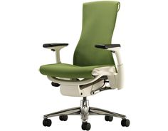 Embody Task Chair by Bill Stumpf & Jeff Weber for Herman Miller. Jeff Weber and his visionary design partner Bill Stumpf set out to create a chair that solved a problem no one else was addressing-the lack of harmony between people and their technology.