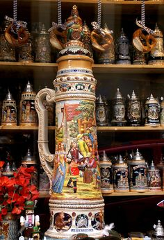 Beer Steins - Rothenburg ob der Tauber, Germany