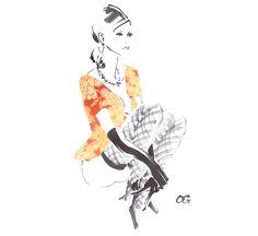 Bijinga Paintings by Takeshi Ohgushi