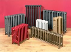 Deciding on colours for my reclaimed radiators
