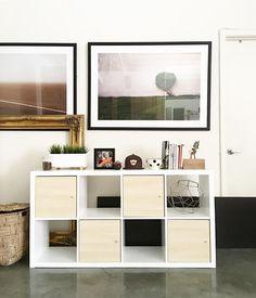 kallax regal grau holzeffekt zimmergestaltung pinterest wohnung kaufen zimmergestaltung. Black Bedroom Furniture Sets. Home Design Ideas