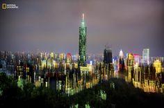 Taipei Night Skyline