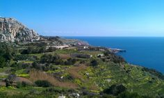 Fawwara, Siggiewi. View from top of Dingli Cliffs.