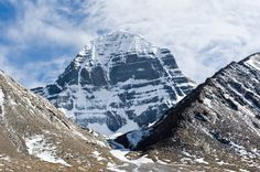 Mount Kailash,  it is considered a sacred place in four religions: Bön, Buddhism, Hinduism and Jainism.